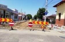 Mâine se închide intersecția străzilor Grivița și Eroilor pentru lucrări de modernizare