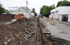 Pe strada Sf. Nicolae au început lucrările la canalizare