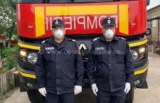 ISU Călărași este prezent cu doi pompieri în misiunea umanitară din Republica Moldova