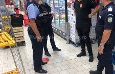 258 de societăţi comerciale verificate de poliţişti în privinţa respectărilor restricţiilor COVID-19