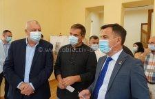 Ministrul lucrărilor publice, dezvoltării şi administraţiei, Ion Ştefan, a vizitat obiective finanţate de MLPDA în municipiul Călăraşi
