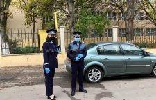 Poliţiştii desfăşoară acţiuni în zona adiacentă a unităţilor de învăţământ