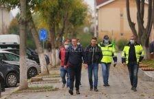 Primarul Marius Dulce a verificat lucrările de pe bulevardul Nicolae Titulescu