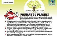 Copiii din satul Stancea, comuna Spanţov, colectează plasticul