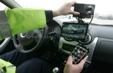 5 radare vor patrula în județul Călărași în acest weekend