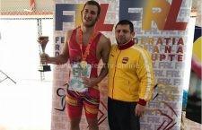 Sportivul CSM Mihai Palaghia, în lotul național de lupte de la Campionatul European U 23