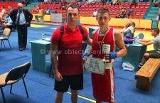 Sportivul CSM Călărași, Jean Cristea, a câștigat Cupa României la Box Tineret
