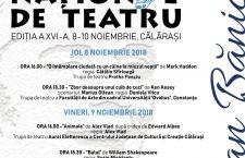 """Festivalul de Teatru Național """"Ștefan Bănică"""" – Programul evenimentului"""