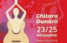 """Festivalul Folk """"Chitara Dunării"""" – 23 – 25 noiembrie, Călărași"""