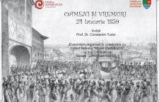 """""""Oameni și Vremuri – 24 Ianuarie 1859"""", simpozion despre Mica Unire"""