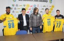 Gabi Iancu, Steliano Filip și Junior Mapuku, prezentați oficial de Dunărea Călărași
