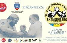 Călărașiul va găzdui Campionatul Național de Skandenberg, în weekendul 22-24 martie