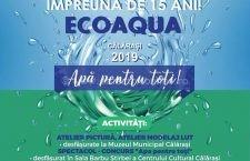 Ecoaqua și ADI Ecoaqua, eveniment de Ziua Mondială a Apei mâine la Călărași