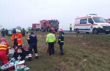 Tânără de 30 ani, decedată în accidentul petrecut astăzi de dimineață pe DN 21