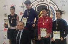 Boxerul călărășean Marco Antonio Manea, campion în Ucraina