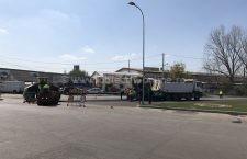 Primăria Călărași a început lucrările de reabilitare pe Varianta Nord