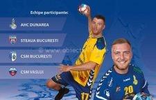 """Joi, 22 august, la Călărași, începe turneul de handbal masculin """"Cupa Dunării"""""""