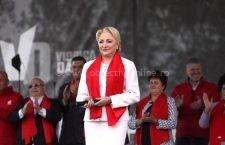 Viorica Dăncilă a câştigat în 4 din cele 5 oraşe din judeţ, Iohannis şi-a adjudecat doar municipiul Călăraşi