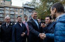 Klaus Iohannis a explicat, la Ploiești, de ce este important ca românii să meargă la vot pe 24 noiembrie