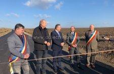 Două drumuri județene de pământ, asfaltate de Consiliul Județean Călărași