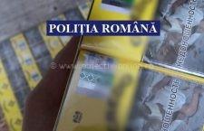 Bărbat reținut de poliție pentru contrabandă cu țigări