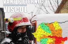 44 de localități au rămas fără curent electric! Județul Călărași se află, în continuare, sub cod roșu!