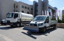 Primăria Călărași a intrat în posesia utilajelor achiziționate prin fonduri europene