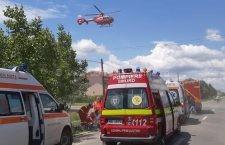 Video   Accident mortal, astăzi, în orașul Fundulea