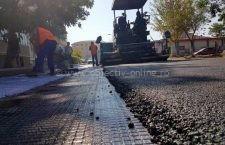 Stadiul lucrărilor de modernizare a străzii Griviţa carosabil şi trotuare
