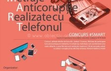 """#SMART – Concurs de filme de scurt metraj cu tematica """"Anticorupție"""""""