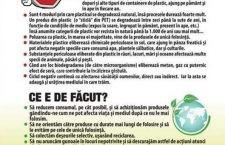 """În comuna Chiselet, elevii participă la programul """"Stop Poluării cu plastic"""""""