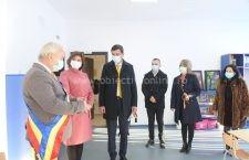 Ministrul Educației și Cercetării, Monica Anisie, prezentă la Dragalina, la finalizarea lucrărilor de construire a unei grădinițe