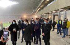 Dragoș Coman, secretar de stat MTS, prezent la inaugurarea Stadionului Steaua