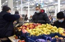 Hala de legume fructe de la Piaţa Big a fost redeschisă după modernizare