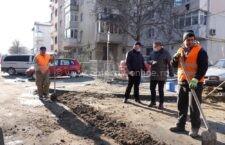 Primăria Călărași a demarat lucrările de reparații pe străzile Zefirului și Luceafărului
