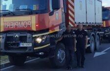 Doi pompieri călărășeni în contingentul care a plecat în Grecia