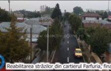 Primăria Călărași a finalizat lucrările de asfaltare în cartierul Farfuria
